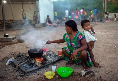BRAZIL-VENEZUELA-CRISIS-MIGRATION-INDIGENOUS