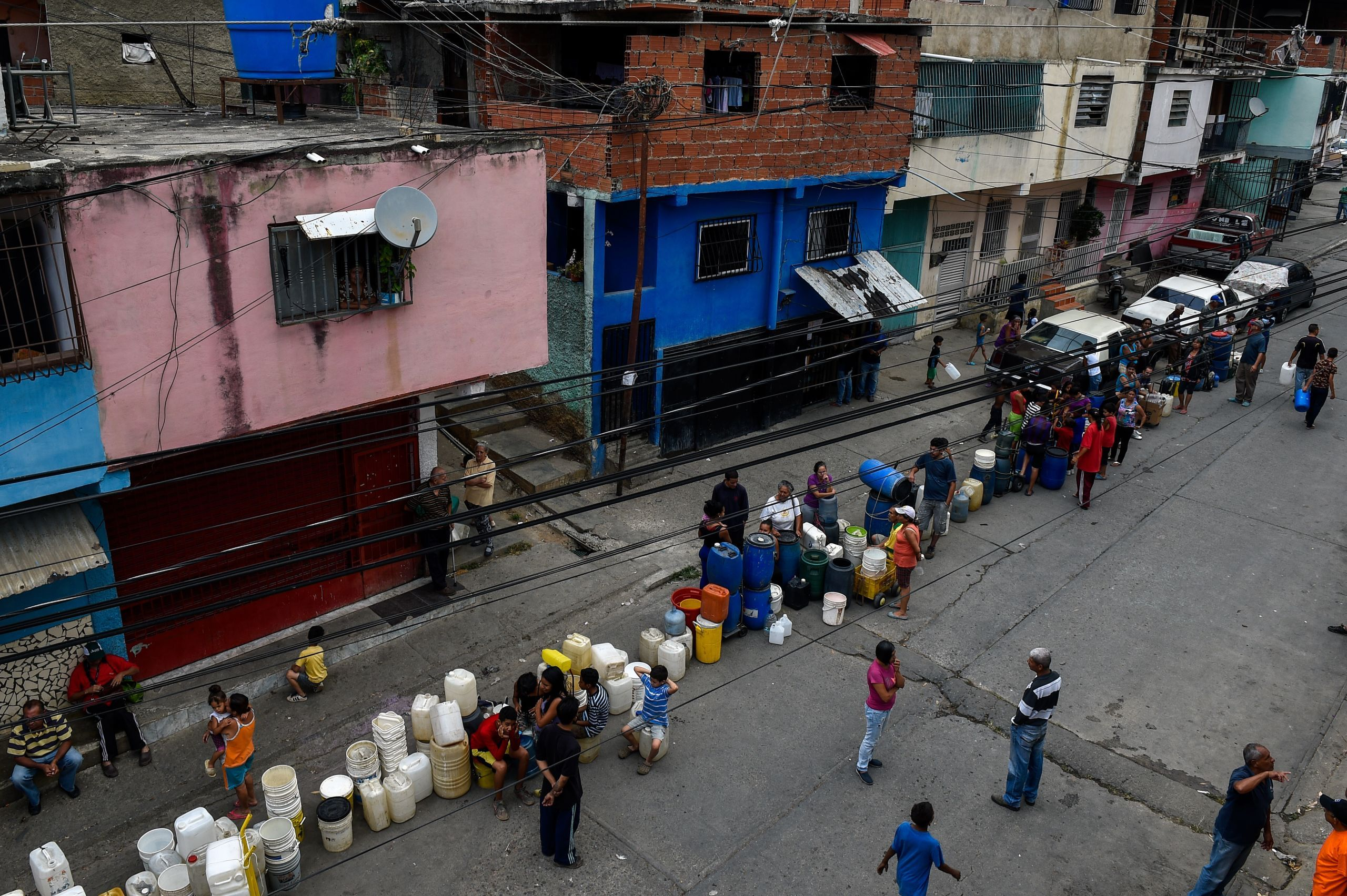 Venezuela – ¿Por qué no hay agua en Caracas? [Informe Especial ...