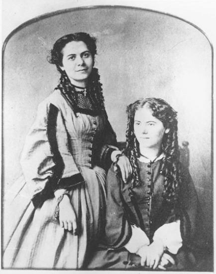 zu Marx, die Tˆchter Jenny und Laura - Marx / Daughters Jenny and Laura - Jenny et Laura, filles de Karl Marx
