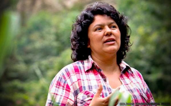 América Latina - Berta Cáceres