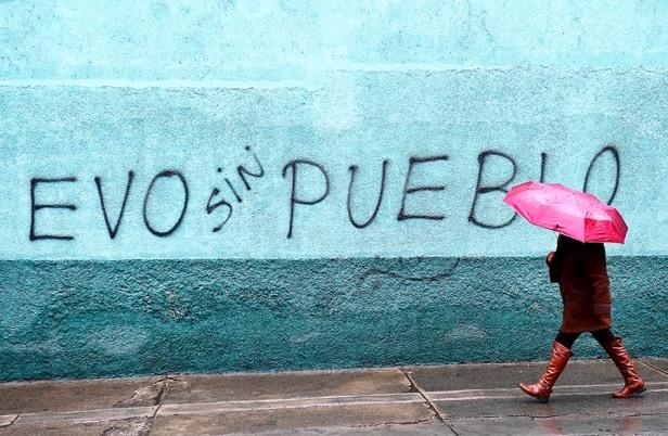 BOLIVIA-CRISIS-MORALES-RESIGNATION
